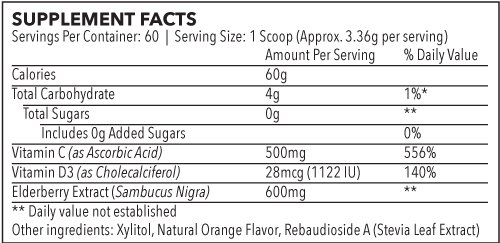 elderberry-powdered-drink-mix-60-servings-jar-elderberry-nutrition-supplement-facts